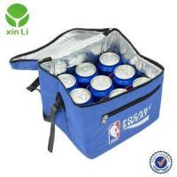 Buy cheap 9 Can Soft Cooler Blue With Long Handle And Hard Liner Oem/odm from wholesalers