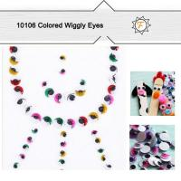 Quality Colored Assorted Big Huge DIY Toy Wiggly Eyes for Kids Age 3+,safe,non Toxic for sale