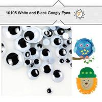 Quality 6mm--25mm Self Adhesive Sticky Black and White Googly Eyes for Crafts and Hobby Wholesale for sale