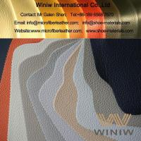 Quality High Quality Synthetic Microfiber Leather Fabric Upholstery Material for sale