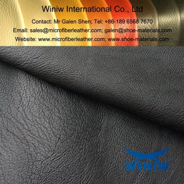 China High Quality PU Faux Leather for Leather Jackets