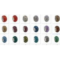 Quality 2015 Latest Rhinestone Big Hole Beads For Bracelet Accessories for sale