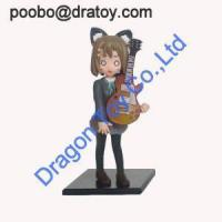 China Hot Selling Custom Cartoon PVC Cool Girl Action Toy Figures wholesale