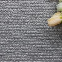 Quality Classical style velvet weaving perforated leather fabric for bag for sale