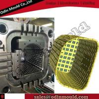 Quality Rattan Laundry Basket Injection Mould for sale