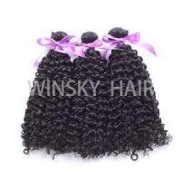 Quality Top Quality Virgin Peruvian Afro Kinky Curly Human Hair Weave Bundles 10 Inches-34 Inches for sale