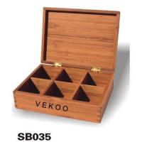 Buy cheap Bamboo Storage Boxes from wholesalers