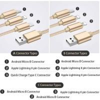 Quality 3 In 1 Multiport USB Type C Connector for sale