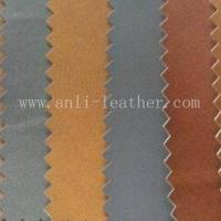 Quality pu,pvc synthetic leather for making belts with non-woven backing for sale
