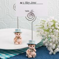 China CLEARANCE Vintage Baby Boy Place Card Holder on sale