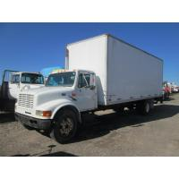 Quality USED 1999 INTERNATIONAL 4700 BOX VAN TRUCK FOR SALE IN CALEDONIA, NY for sale