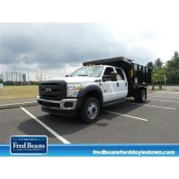 Quality NEW 2016 FORD F-450 CHASSIS 12FT READING LANDSCAPE DUMP DUMP-TRUCK FOR SALE IN DOYLESTOWN, PA for sale