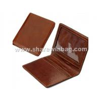 China Quality Leather Travel Card Holder on sale