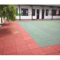 China RUBBER TILE CPT (for playground,sidewalk...) wholesale