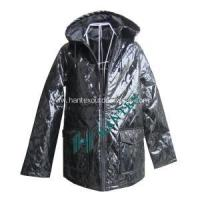 China Ladies Fashion Faux Leather Jacket With Cotton on sale