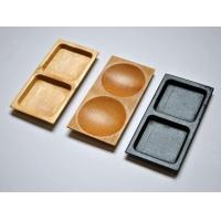 Buy cheap Bamboo Plate Two Compartment from wholesalers