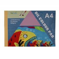 China Aluminum easel Oil color pad AE50701 A5 30sheets on sale