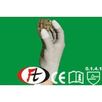 Quality 10-CO135 10-CO235 Copper/nylon knitting gloves with white Polyurethane coated for sale