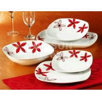 Quality SQUARE SHAPE DINNER SET TP20SD-A9616 for sale