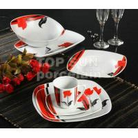 Quality SQUARE SHAPE DINNER SET TP-A863 A for sale