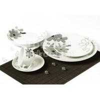 Quality SQUARE SHAPE DINNER SET TP20CD-A86212 for sale