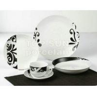 Quality SQUARE SHAPE DINNER SET TP20CD-A86210 for sale