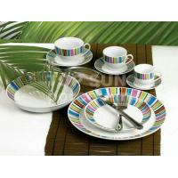 SQUARE SHAPE DINNER SET TP-A8645 Red
