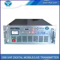 Quality 10W VHF Digital Mobile/Live Transmitter for sale