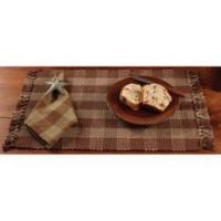 Quality Log Cabin Check Placemat Doz. (13x19) for sale