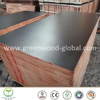 Buy 3mm / 30mm Pine Film Faced Marine Plywood Sheet at wholesale prices