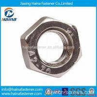 Quality In stock DIN934 stainless steel hex nut for sale