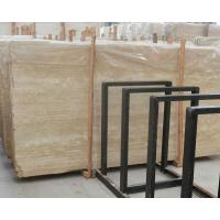Quality Imported Italian beige travertine marble flooring tiles for sale