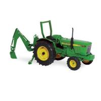China Ertl John Deere 950 Tractor With Backhoe, 1:16 Scale on sale