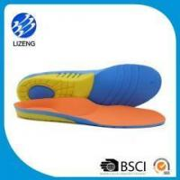 Buy cheap 3/4 length soft pu orthotic shoe inserts with arch support shell from wholesalers