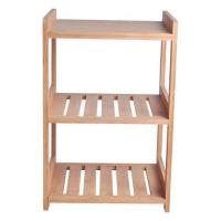 Buy cheap Bamboo Display Shelf With Wheel from wholesalers