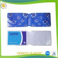 Quality pvc oyster card holder for sale