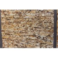 Yellow Marble Culture Stone / Sledge Wall Stone