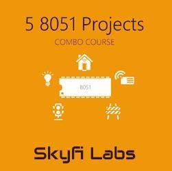 Buy Electronics 5 8051 Embedded System Projects (Combo Course) Details at wholesale prices