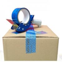 Quality Self Adhesive Tamper Evident Security Sealing Tape, Anti-counterfeit Tape, Warranty Voiding Tape for sale