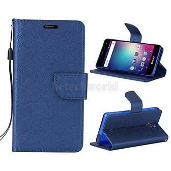 China BLU R1 HD Leather Mobile Phone Covers Business Style Wallet Case For BLU Phone