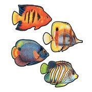 Quality Coral reef fish cutouts (12) Left in stock XB4 for sale
