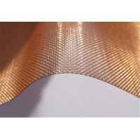 Quality Architectural Decorative industrial Filter Mesh High Quality Pure Copper Wire Cloth Mesh Screen for sale