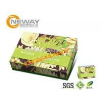 Quality Folding Cardboard Floor Display Stands / Cosmetic Packaging Box for sale