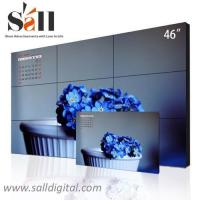Buy cheap 46 Inch 3x3 lcd video wall ultra narrow bezel lcd video wall (SL-VW460) from wholesalers
