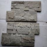 Quality Outdoor Grey Quartz Stone Facade Wall Tiles for sale
