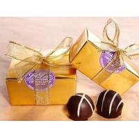 Quality Gift Boxes Truffle Favor Boxes for sale