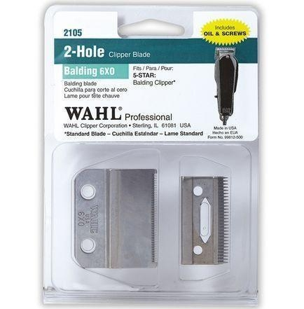 China Wahl 2-Hole Clipper Blade for Balding Clipper (6X0) #2105