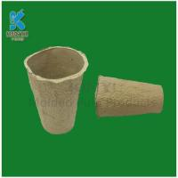 Quality Tall Biodegradable Fiber Molded Flower Pots for sale