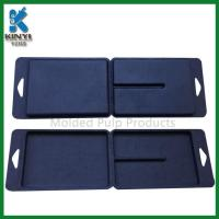 Customized Black Color Biodegradable Fiber Pulp Molded Packaging Boxes