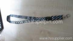 China full color sublimation polyester lanyard